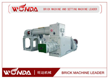 Vacuum Extruder Automatic Red Soil Brick Making Machine Low Power Consumption