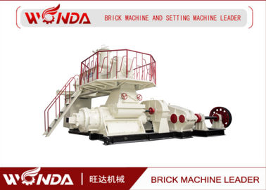 China Vacuum Clay Brick Extruder Machine Red Bricks Manufacturing Machine JKB 50 / 50 - 3.5 supplier