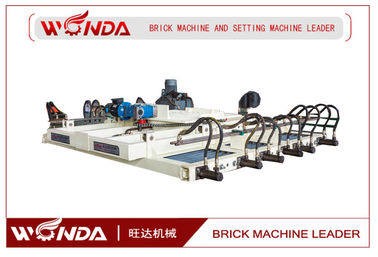 Hoffman Kiln Clay Brick Stacking Machine , Stacking Equipment 3 Meters Cross Section