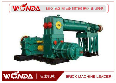Automatic Clay Brick Making Machine , Double Stage Brick Extrusion Machine Durable