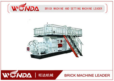 Geramic Mixing Blade Clay Mud Brick Making Machine 16000-20000 M³/H Production Capacity