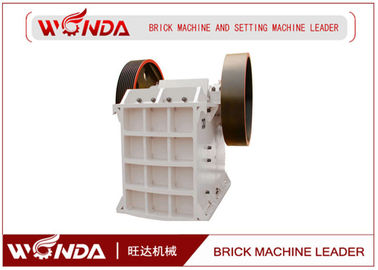 Fine Steel Jaw Crusher Machine  Gravel / Brick Crushing Machine Simple Structure