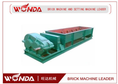 Brick Line Double Shaft Mixer , Clay Brick Extruder Large Output For Raw Material