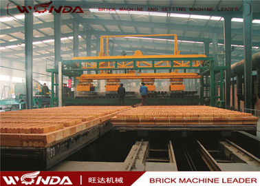 Gas Fired Clay Tunnel Brick Kiln Automatically Run For Brick Making Machinery Plant