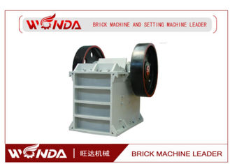 All Steel Hard Concrete Jaw Stone Crusher Fully Automatic 250r/ Min Rotate Speed