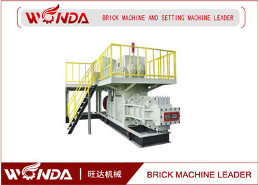 Double Stage Automatic Brick Making Machine Vacuum Extruder Production Line