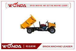 Color Optional Mini Truck Dumper Steel Material Strong Carrying Ability