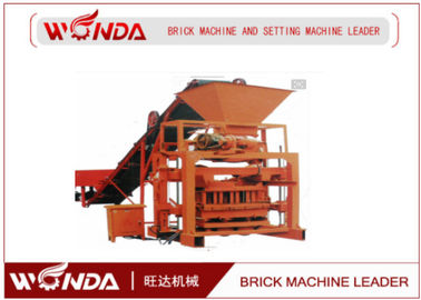 Hydraulic Press Semi Automatic Brick Making Machine , Paver Brick Making Machine