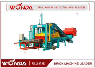 Mobile Cement Concrete Block Making Machine / Brick Making Machines 16Mpa Pressure