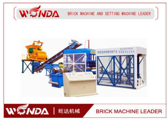 Coal Gangue Clay Semi Automatic Brick Making Machine Diesel Engine For Hoffman Kiln