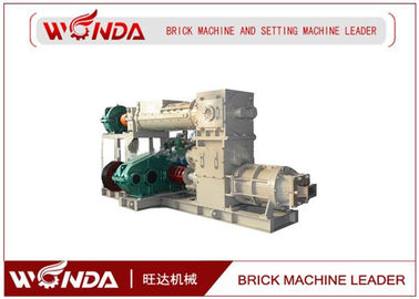 China Reamer Soild Clay Brick Making Machine , Clay Brick Extruder Machine Large Output supplier