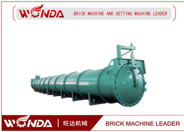 China Steel Material AAC Block Production Line , Concrete Block Making Equipment Support Saddle supplier