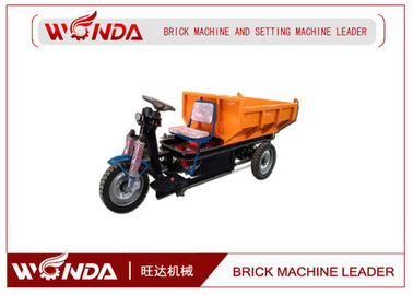 Three Wheel Brick Extruder Machine 36V Open Body Type Brick Production Line Applied