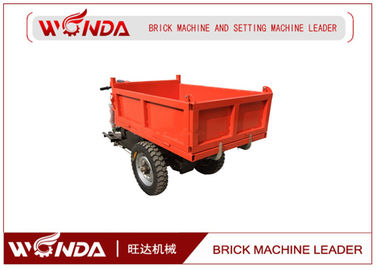 1-10T Load Electric Mini Dumper Track , Brick Cerry Electric Tricycle For Cargo