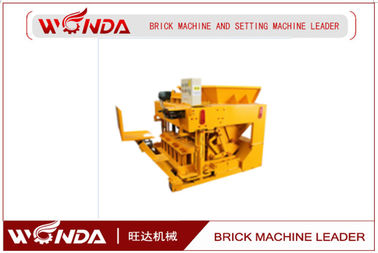 Brick Molding AAC Block Production Line , Cement Concrete Block Making Machine QMY6-30