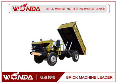 Transport Cars Electric Mini Dumper Track Concrete In The Brick Production Line
