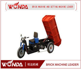 3 Wheel Brick Extruder Machine , Electric Cargo Trike For Brick Transportation