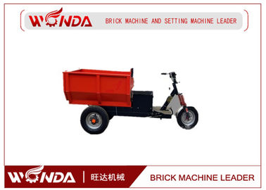Diesel / Brick Extruder Machine , Heavy Duty Three Wheel Cargo 48v Voltage