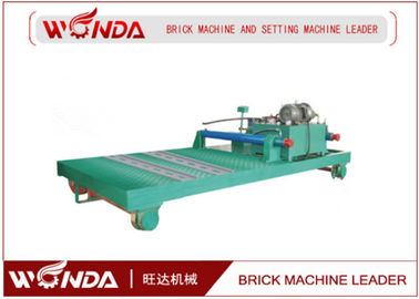 Ferry Hydraulic Stepper Pusher Steel Adobe Caly Fried Brick Making Machine Applied