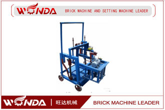DM220-8B Small Mobile Semi Automatic Brick Making Machine , Concrete Block Making Machine QMR2-45