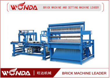 Fly Ash Tunnel Kiln Fried Automatic Brick Cutting Machine 15 Times / Min Capacity