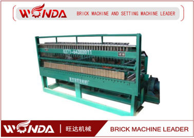 Fried Green Automatic Brick Cutting Machine , Brick And Block Cutter Adjustable Speed