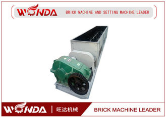 Fried Red Brick Double Shaft Mixer Wall Non Sticky Pages 55kw Motor Power SJ 4000