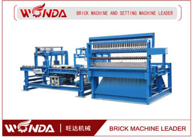 QP350 Double Wire Frame Brick Cutting Machine For Fried Red Brick Making Factory