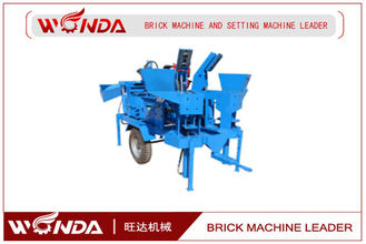 Interlocking Semi Automatic Brick Making Machine M7MI TWIN 3840 Pcs/8hr Capacity