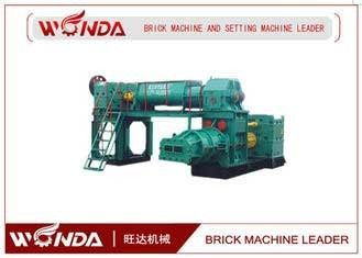 Clay Automatic Brick Making Machine , Brick Manufacturing Equipment All Steel Fuselage