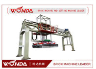 Steel Alloy Brick Setting Machine , Fly Ash Bricks Machine Pneumatic Pressure