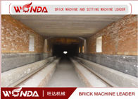 China Red Clay Brick Tunnel Kiln , Automation Tunnel Kiln For Brick Firing Process company