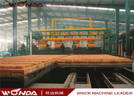 China Gas Fired Clay Tunnel Brick Kiln Automatically Run For Brick Making Machinery Plant company