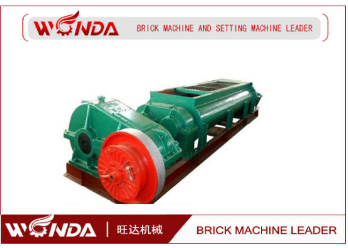Automatic Steel Double Shaft Mixer , Clay Brick Mixer 55 KW Wear Resistant