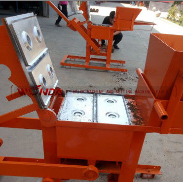 9.6KW Soil Clay Brick Making Machine Manual Force 220V One Year Warranty